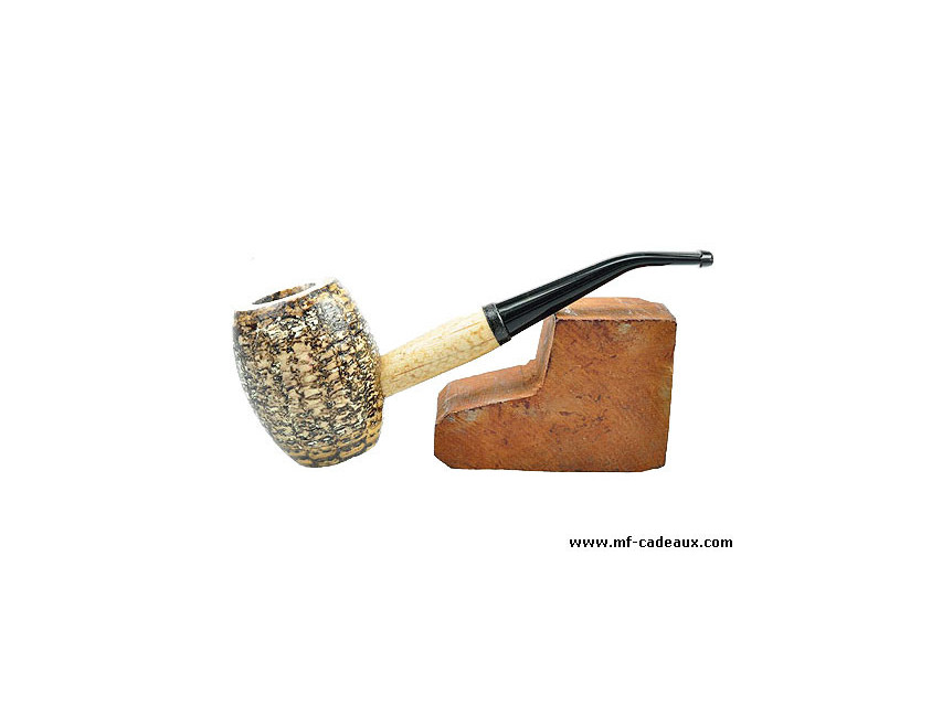Pipe maïs olive courbe