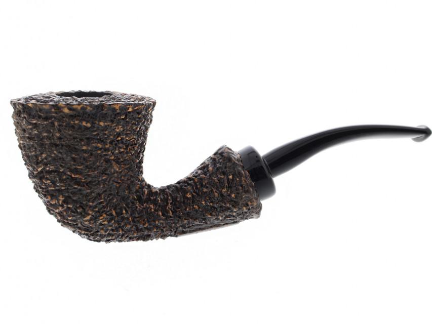 Pipe Brebbia Reverse Calabash rustiquée