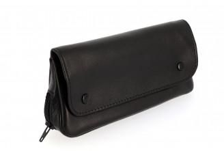Blague à tabac 3 poches noire XL