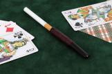 Fume cigarette rustiqué