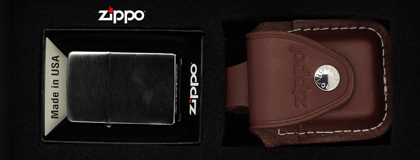 Coffret Briquet Zippo et Accessoires de rechange